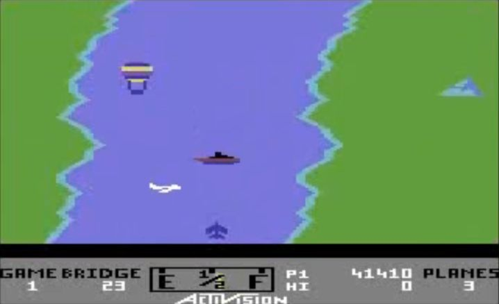 """River Raid"" auf dem C64: Jugendgefährdend?"