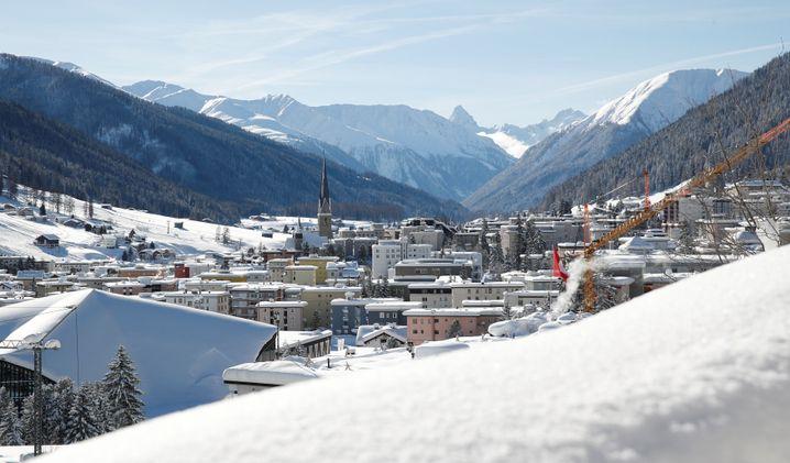 Davos - Tagungsort des Weltwirtschaftsforums