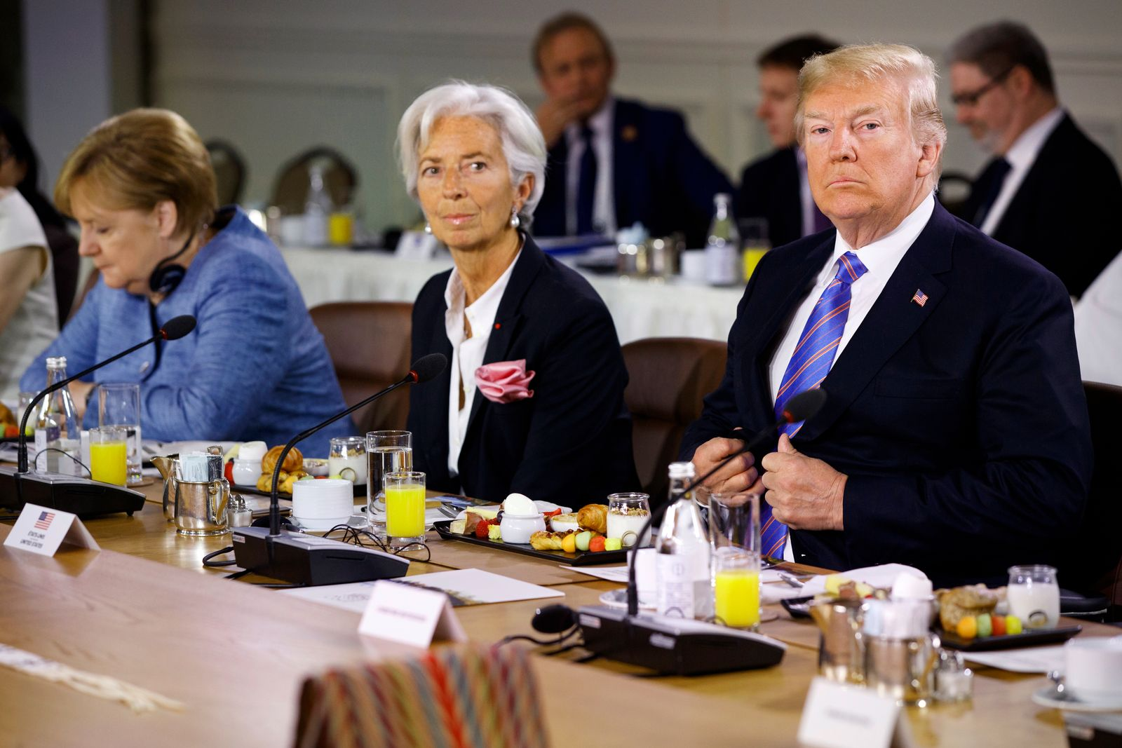 Donald Trump / Christine Lagarde