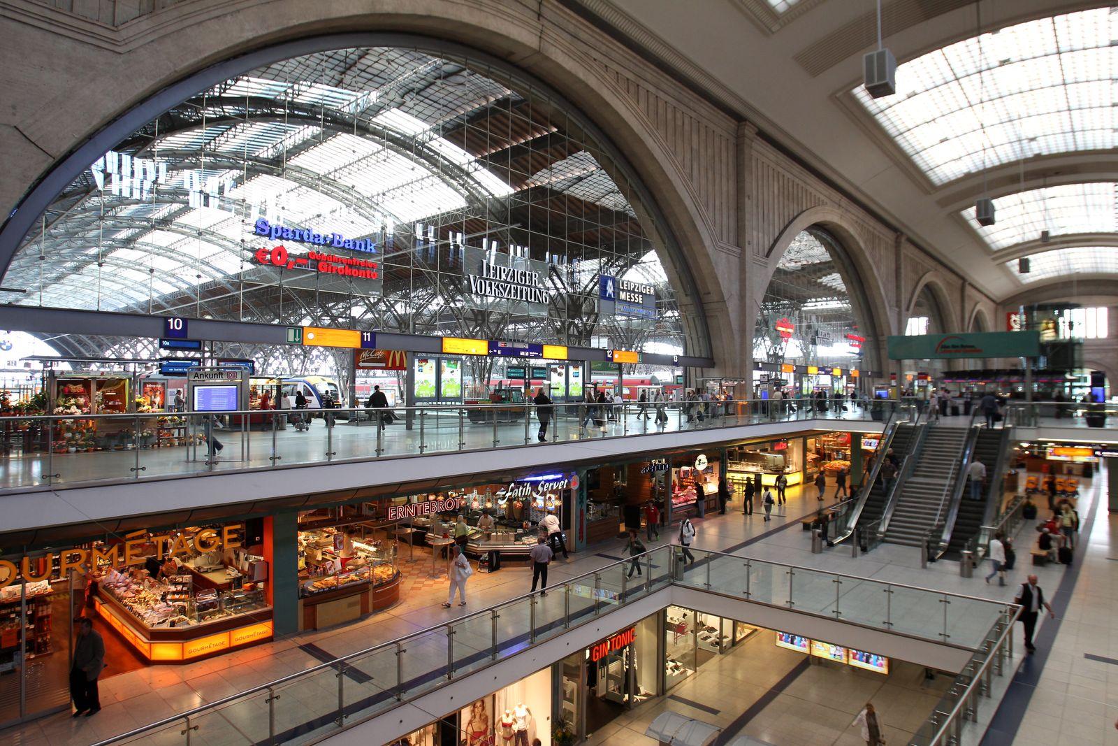 NICHT VERWENDEN Hauptbahnhof Leipzig