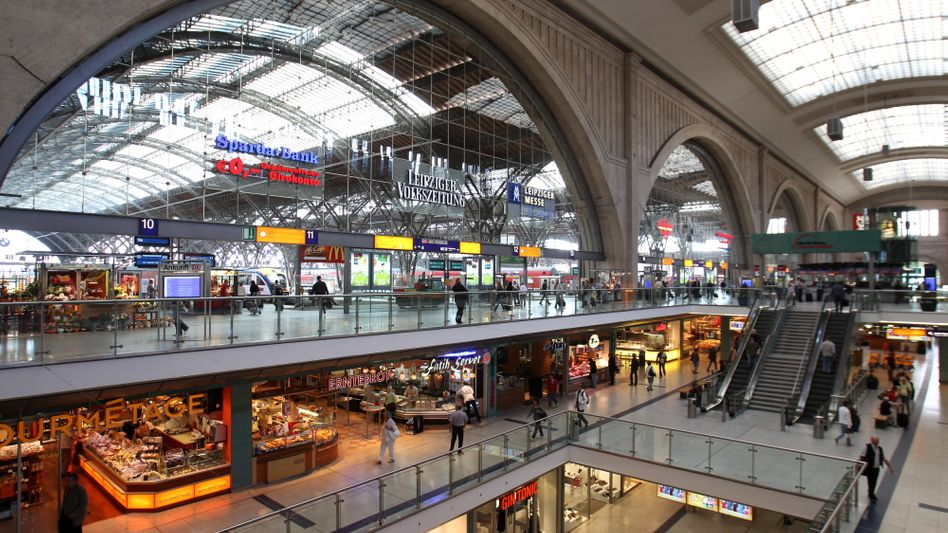 Der Hauptbahnhof in Leipzig: Selbstzweifel gering ausgeprägt