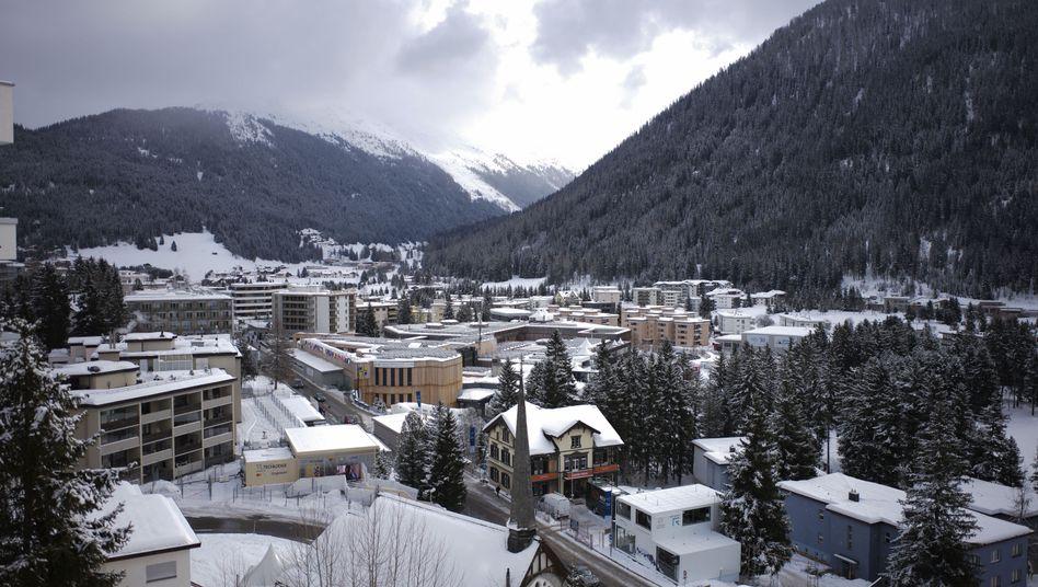 Konferenz in der Schweiz: Weltwirtschaftsforum hat für Davos großen Werbewert