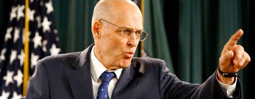 """US-Finanzminister Paulson: """"Sie sollten den Plan übernehmen"""""""