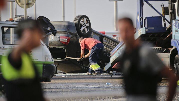 Terrorangriffe: Schüsse in Cambrils, Schock in Barcelona
