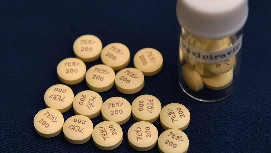Avigan ist in Japan zur Grippetherapie zugelassen