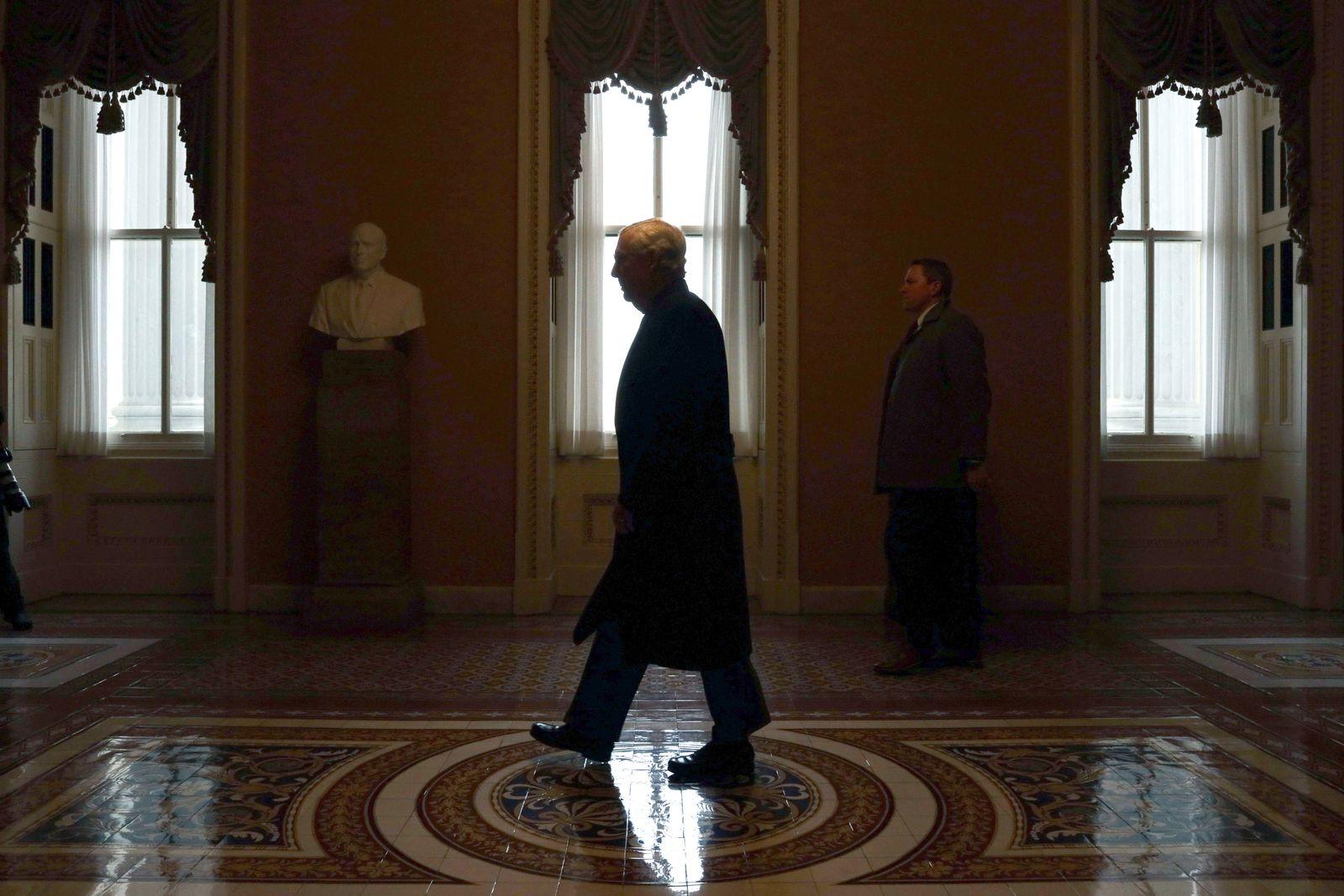 Senate Impeachment Trial Of President Trump Continues