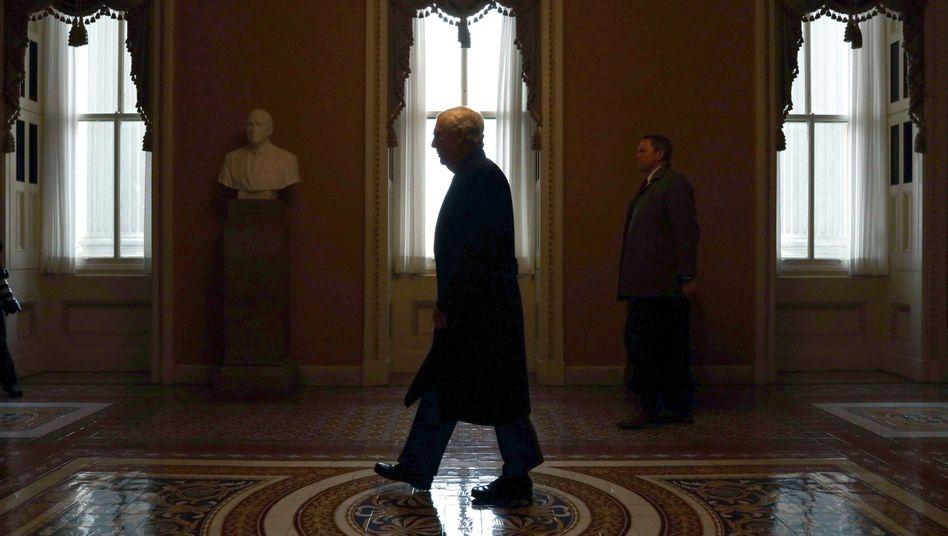 Mitch McConnell, Mehrheitsführer der Republikaner im Senat: Nicht einmal er soll vom Bolton-Buch gewusst haben