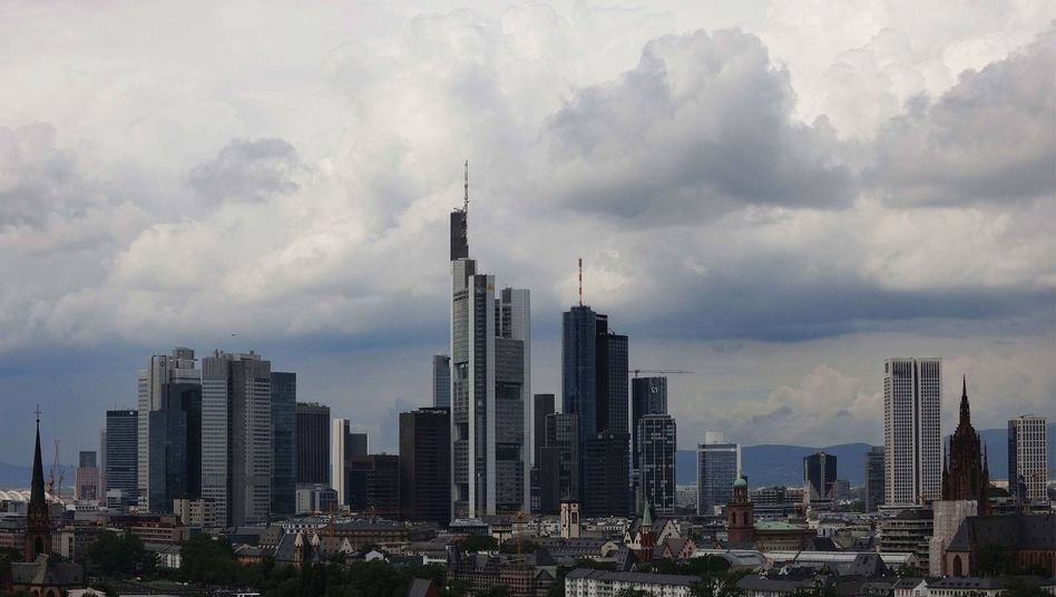 Frankfurter Bankenskyline: Deutschland wird keine Steuer auf Banker-Boni einführen