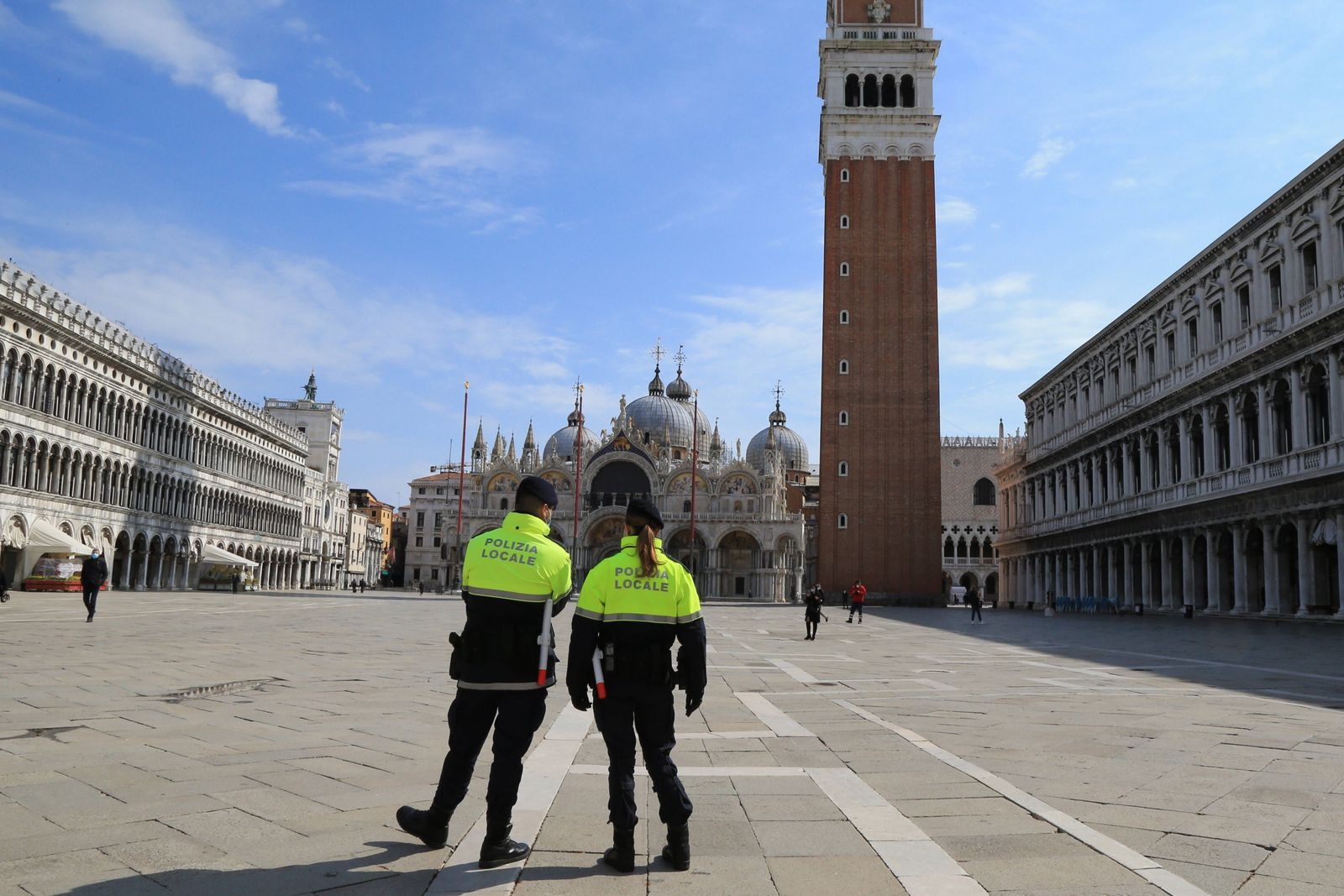 Coronavirus Outbreak - The Serenissima on 15th of April 2021, Venice, Italy. Number of foreign tourists coming to visit