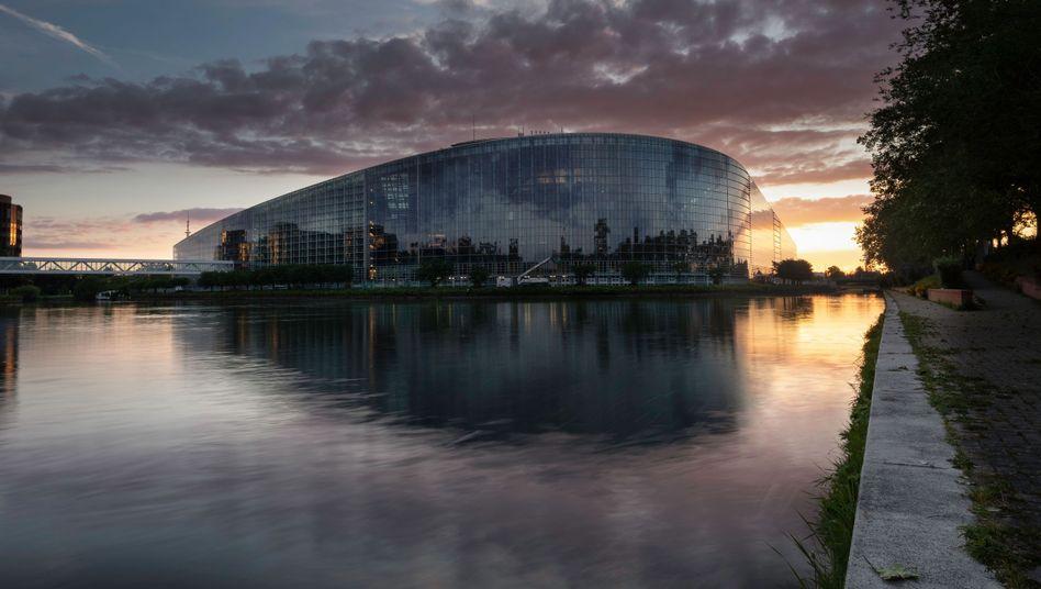 Europaparlament in Straßburg