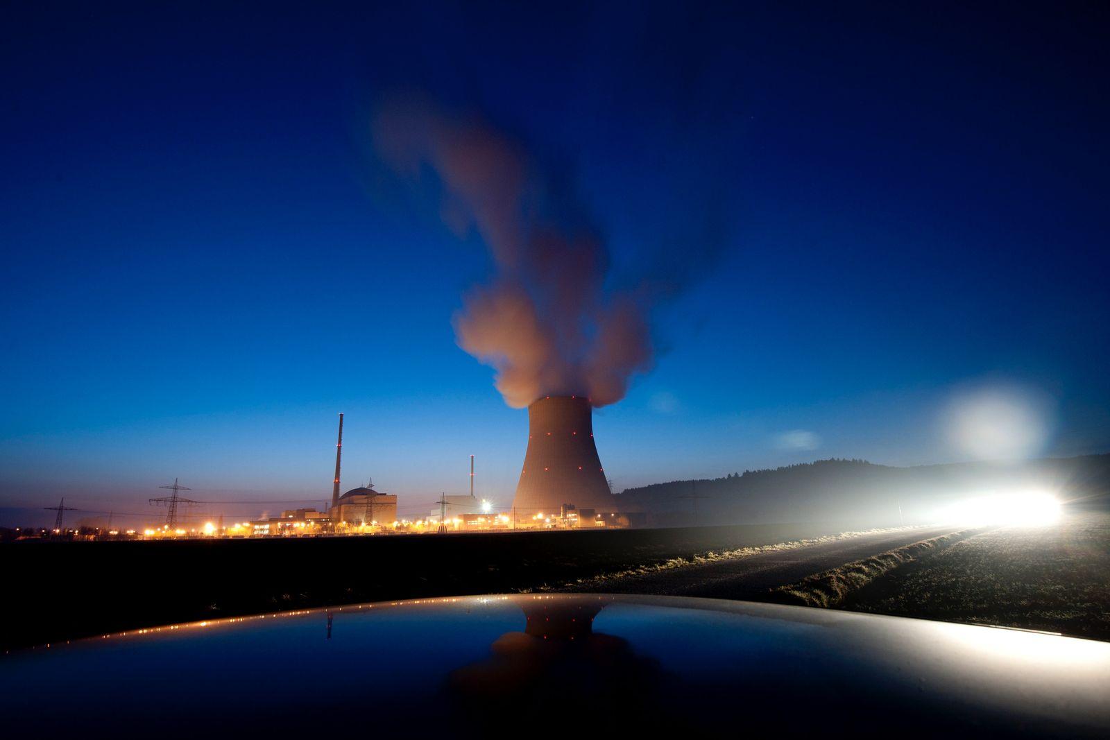 NICHT VERWENDEN Atomkraftwerk