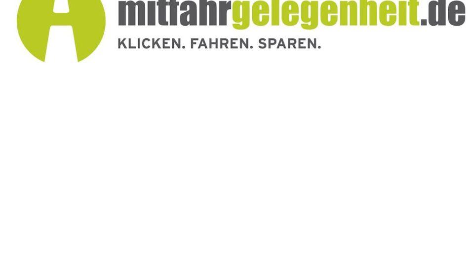 Webseite von Mitfahrgelegenheit.de