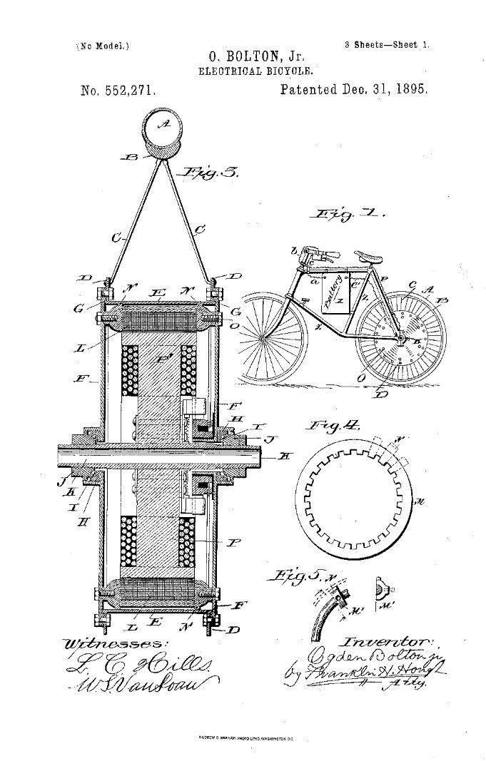 Veröffentlichungsnummer: US552271 Veröffentlichungsdatum: 31. Dez. 1895 Eingetragen: 19. Sept. 1895 Erfinder: Ogden Bolton
