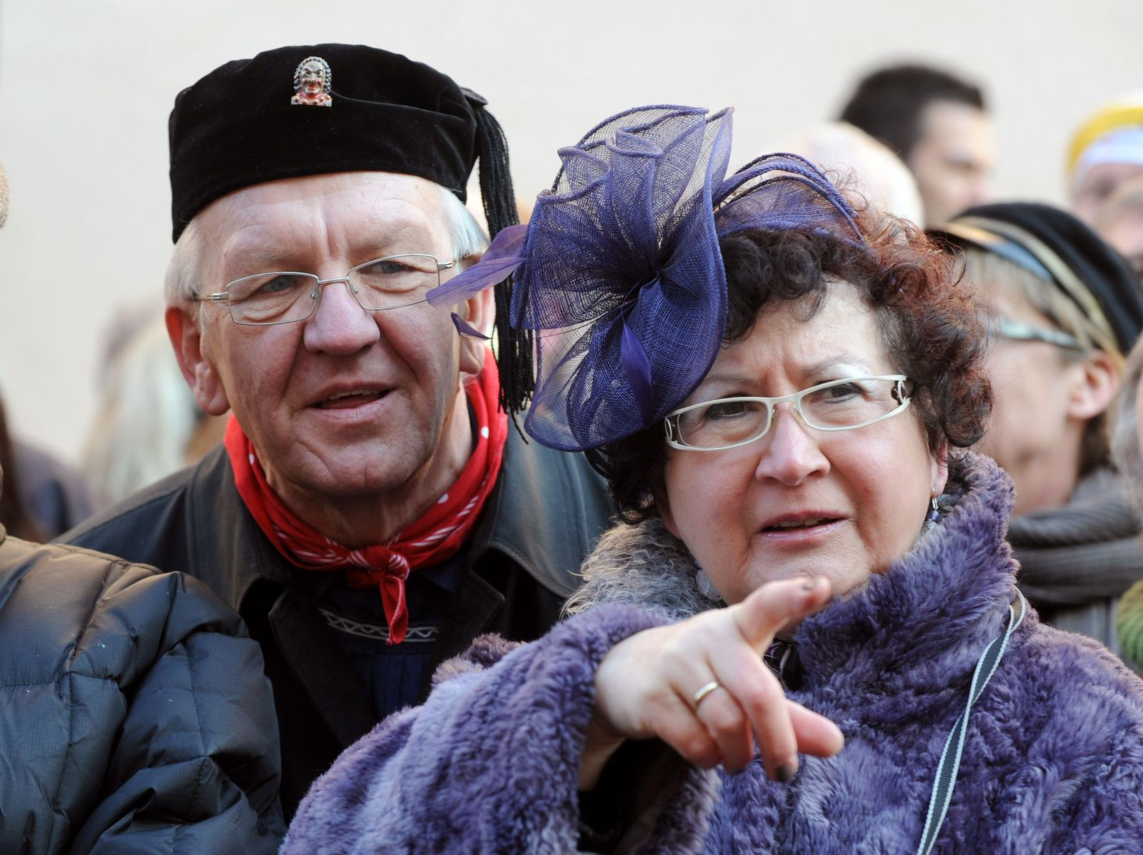Kretschmann und Frau