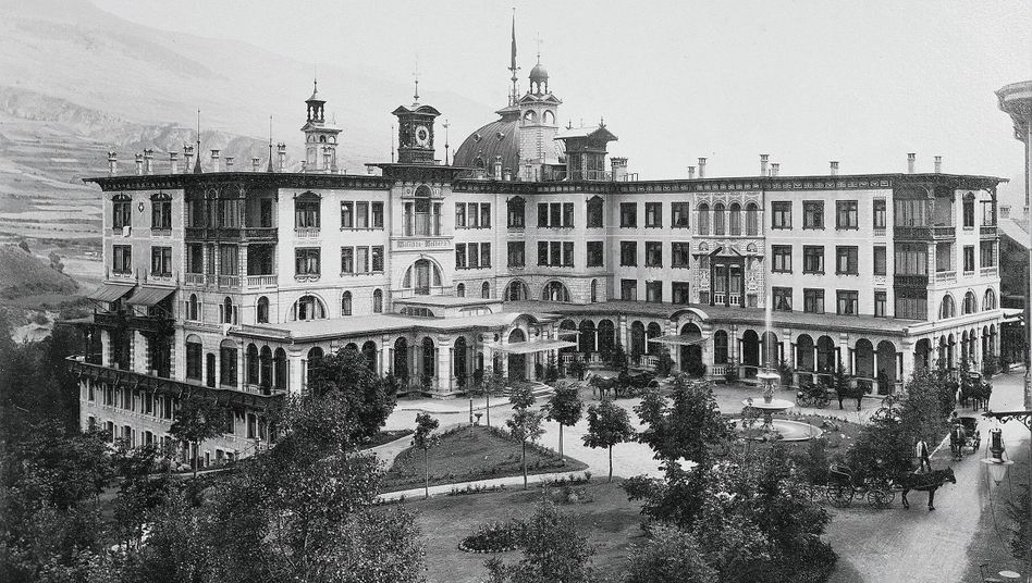 Grandhotel Waldhaus in Vulpera um 1900: »Ganz normaler Schweizer Antisemitismus«