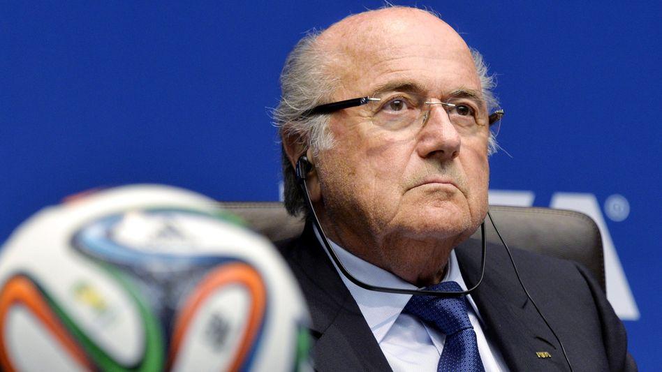 """Fifa-Präsident Blatter: """"Opfer seiner Beliebtheit"""""""