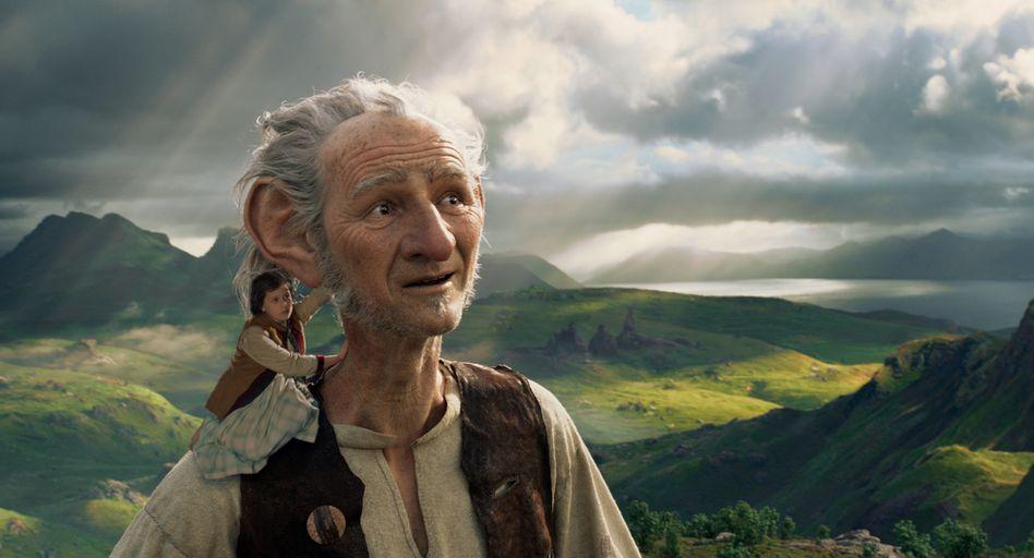 Spielberg verfilmt Roald Dahl: Sind so große Hände