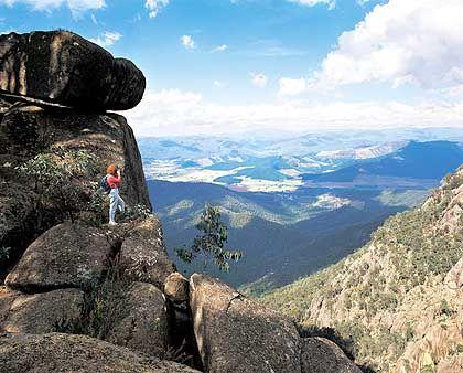 Hochplateau des Nationalparks Mount Buffalo: Buschwandern und Drachenfliegern locken Touristen nach Nordost-Victoria