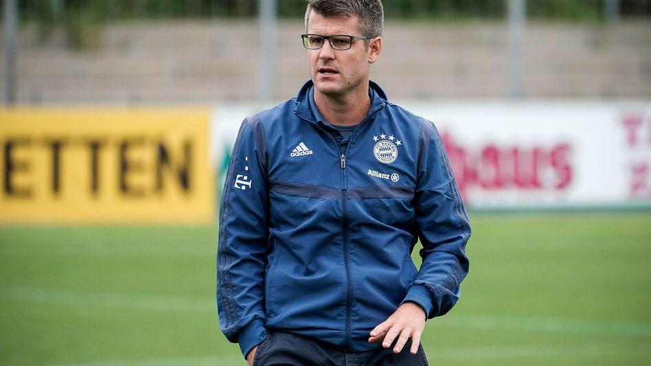 Trainer Jens Scheuer wechselte vom SC Freiburg zum FC Bayern München