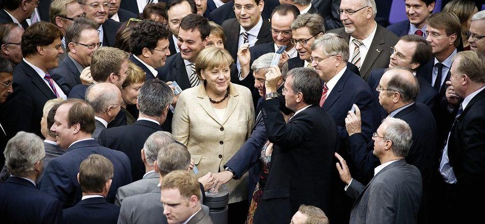 Abstimmung über Euro-Rettungsschirm: im Bundestag am 29. September