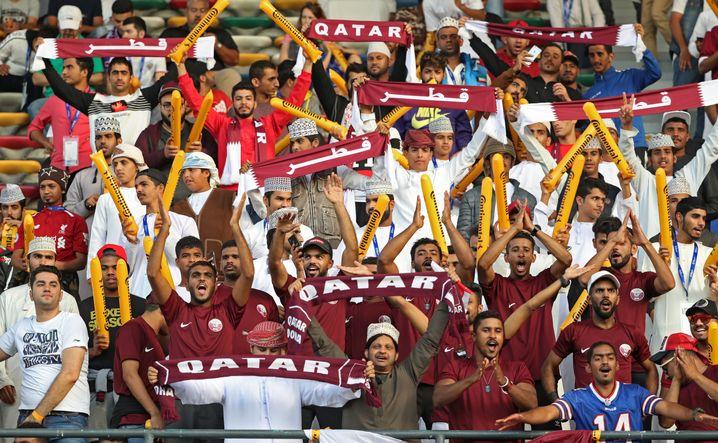 Katarische Fans