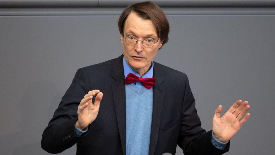 """Karl Lauterbach: """"Wir müssen die Große Koalition beenden"""""""