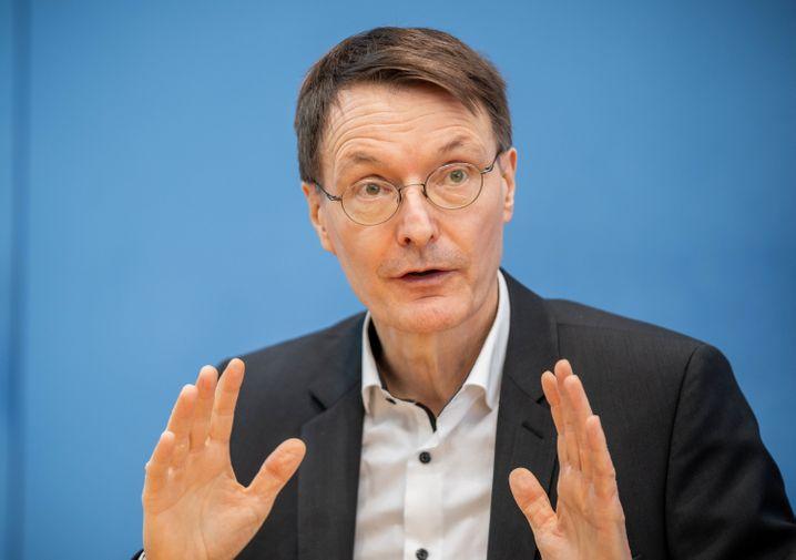 Der SPD-Gesundheitsexperte Karl Lauterbach
