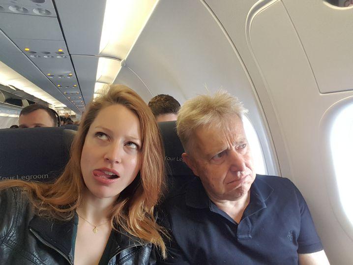 Vater und Tochter Schlosser auf Recherchereise: Aushalten, dass es Differenzen gibt