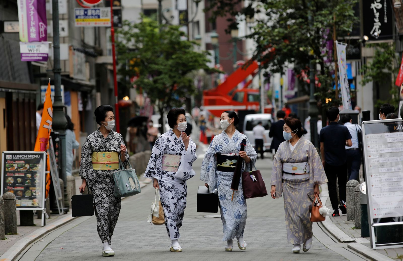 """The Wider Image: """"It'll take all of our body and soul"""" - geisha struggle to survive in the shadow of coronavirus"""