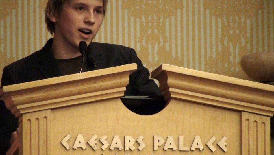 "Hacker Peter Kleissner in Las Vegas: ""Erstens Ruhm, zweitens Erfolg, drittens Geld!"""