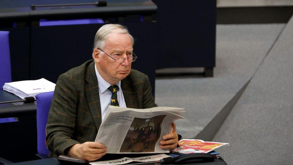 """AfD-Fraktionschef Gauland: Bereits 2019 wurde wegen eines """"privaten Steuerfehlers"""" ermittelt"""