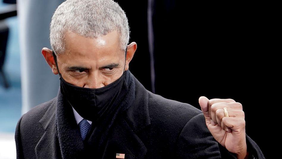 Barack Obama: »Mich haben die Szenen aus dem Kapitol überrascht«
