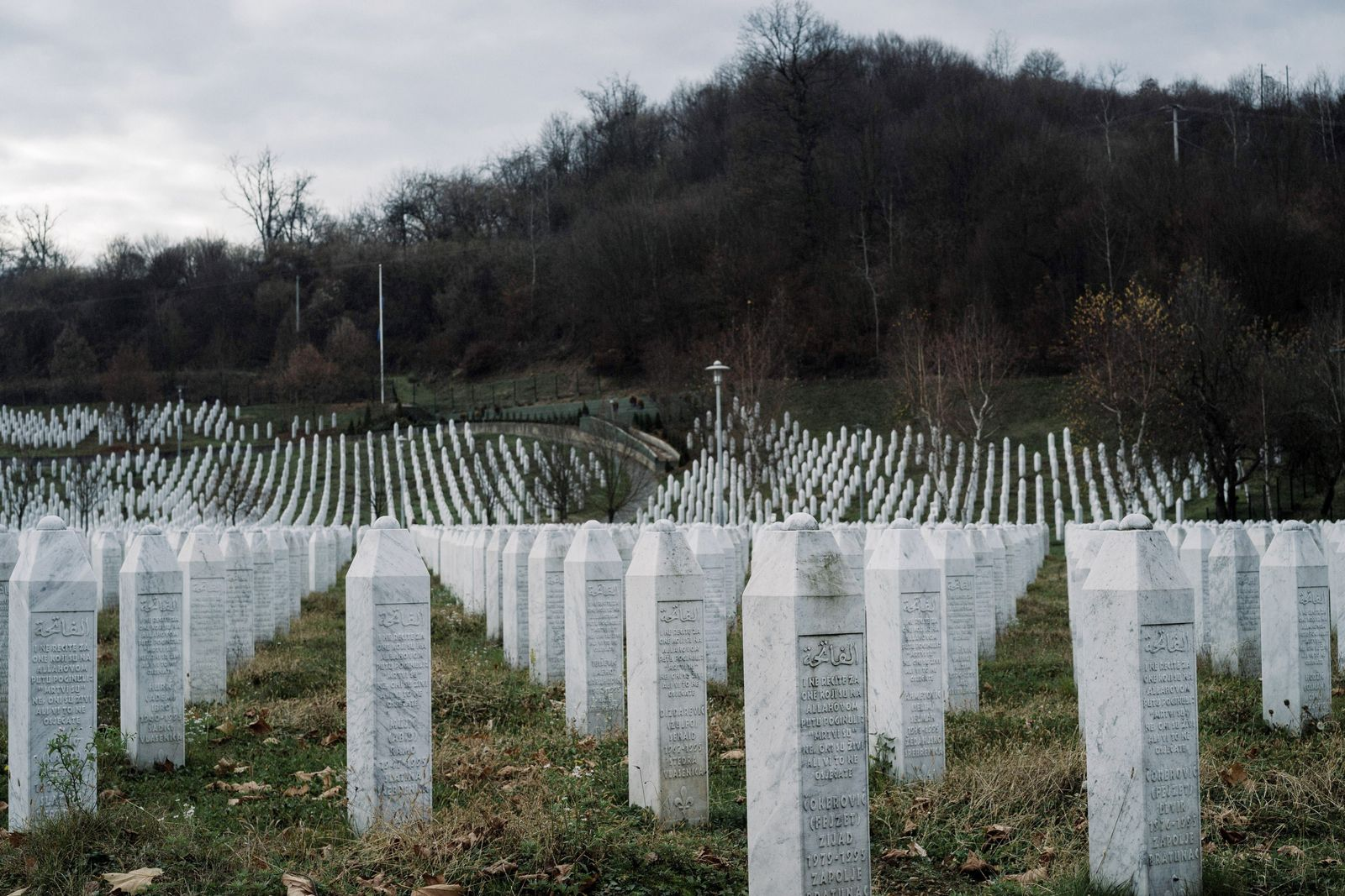 Grab / Gedenkstätte Potocari Srebrenica/ Ratko Mladic