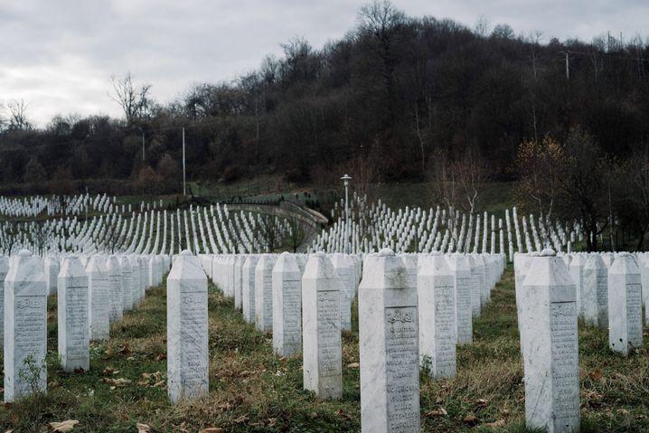 Gedenkstätte für die Opfer von Srebrenica