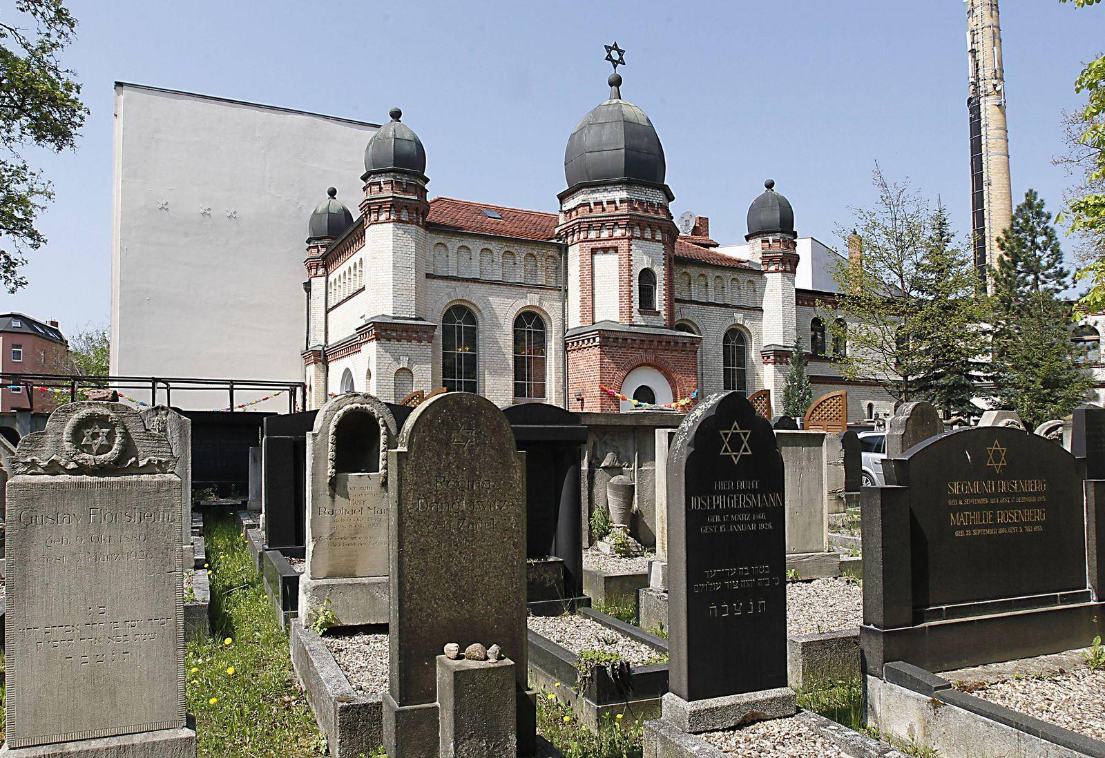 EINMALIGE VERWENDUNG Synagoge/ Halle