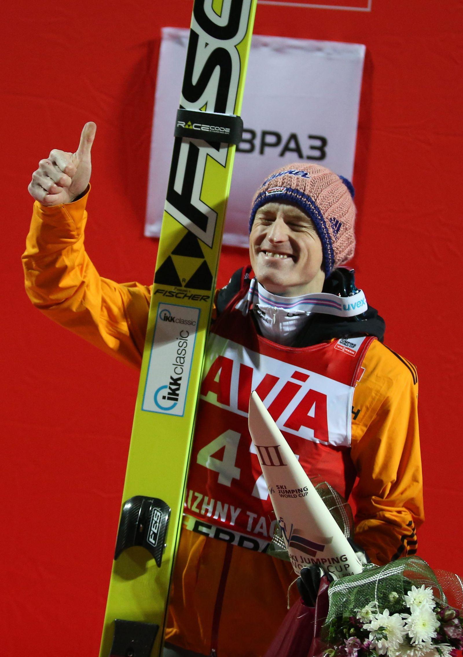 Skispringen Russland