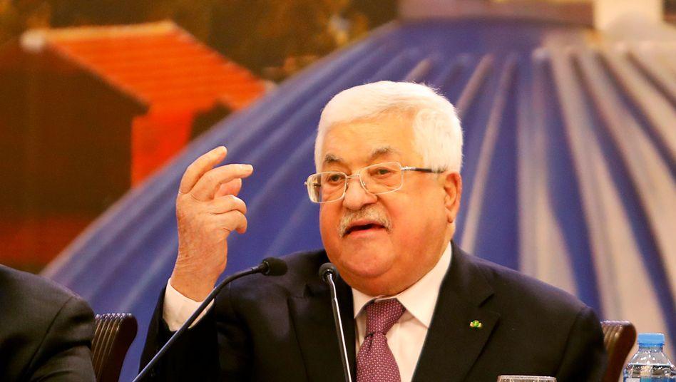 Mahmud Abbas: Der Palästinenserpräsident lehnt Trumps Friedensplan ab
