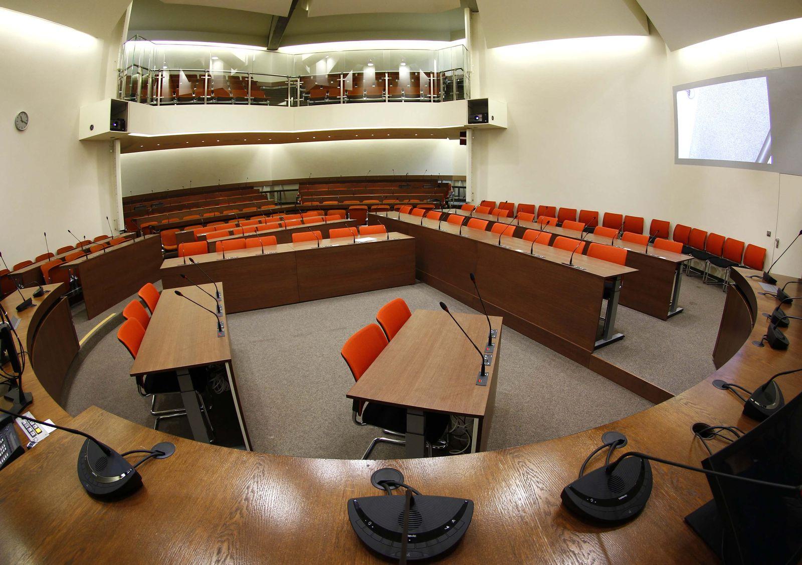 Landgericht München / NSU-Prozess