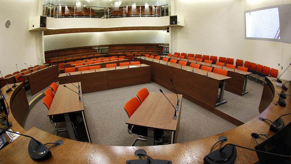 Gerichtssaal im OLG München: Keine Videoübertragung vom Prozess gegen Beate Zschäpe