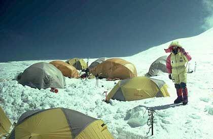 """Basislager am Mount Everest: """"Die soziale Komponente ist sehr wichtig"""""""