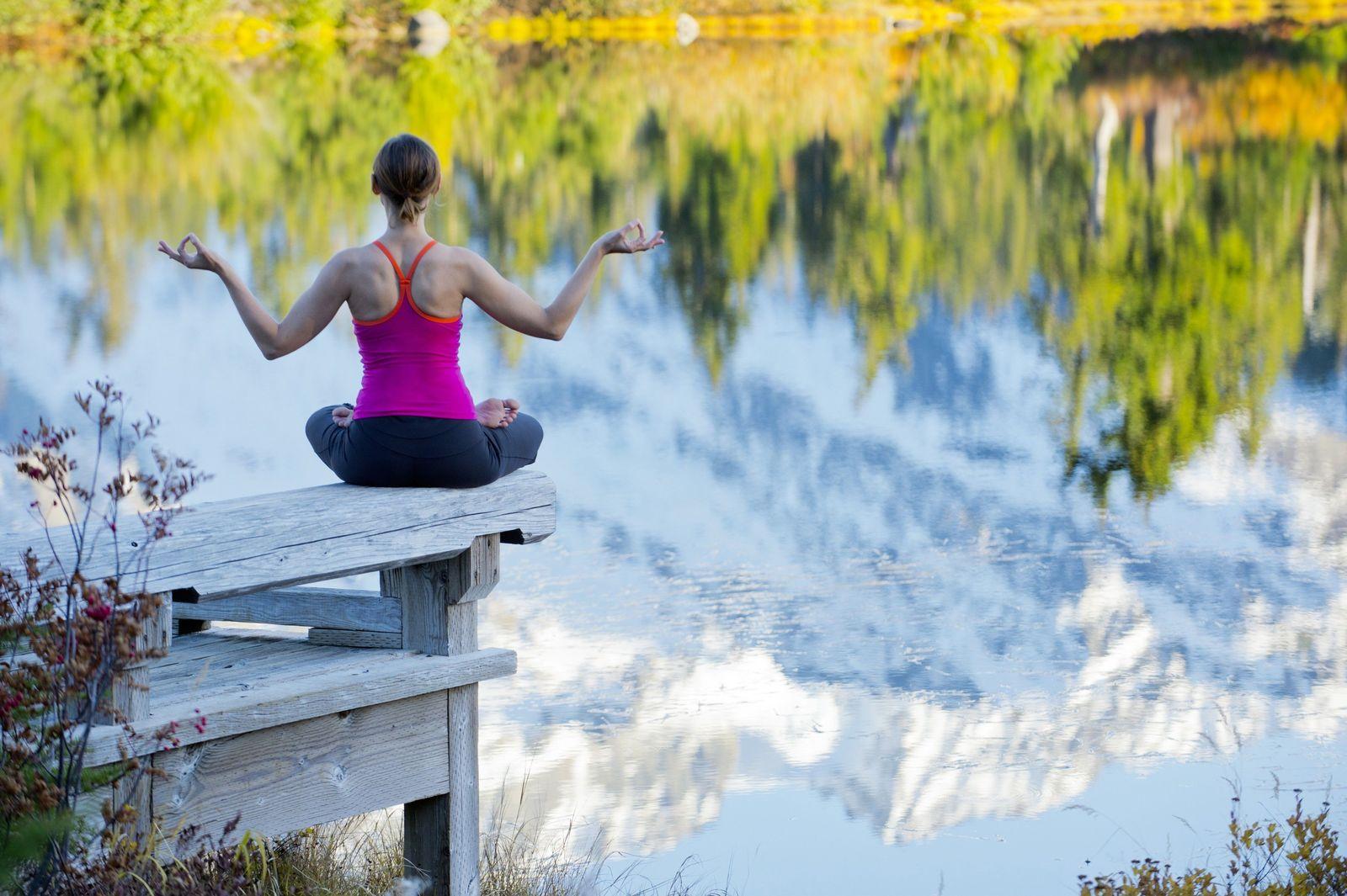 NICHT MEHR VERWENDEN! - Symbolbild Meditation/ Aufmerksamkeit