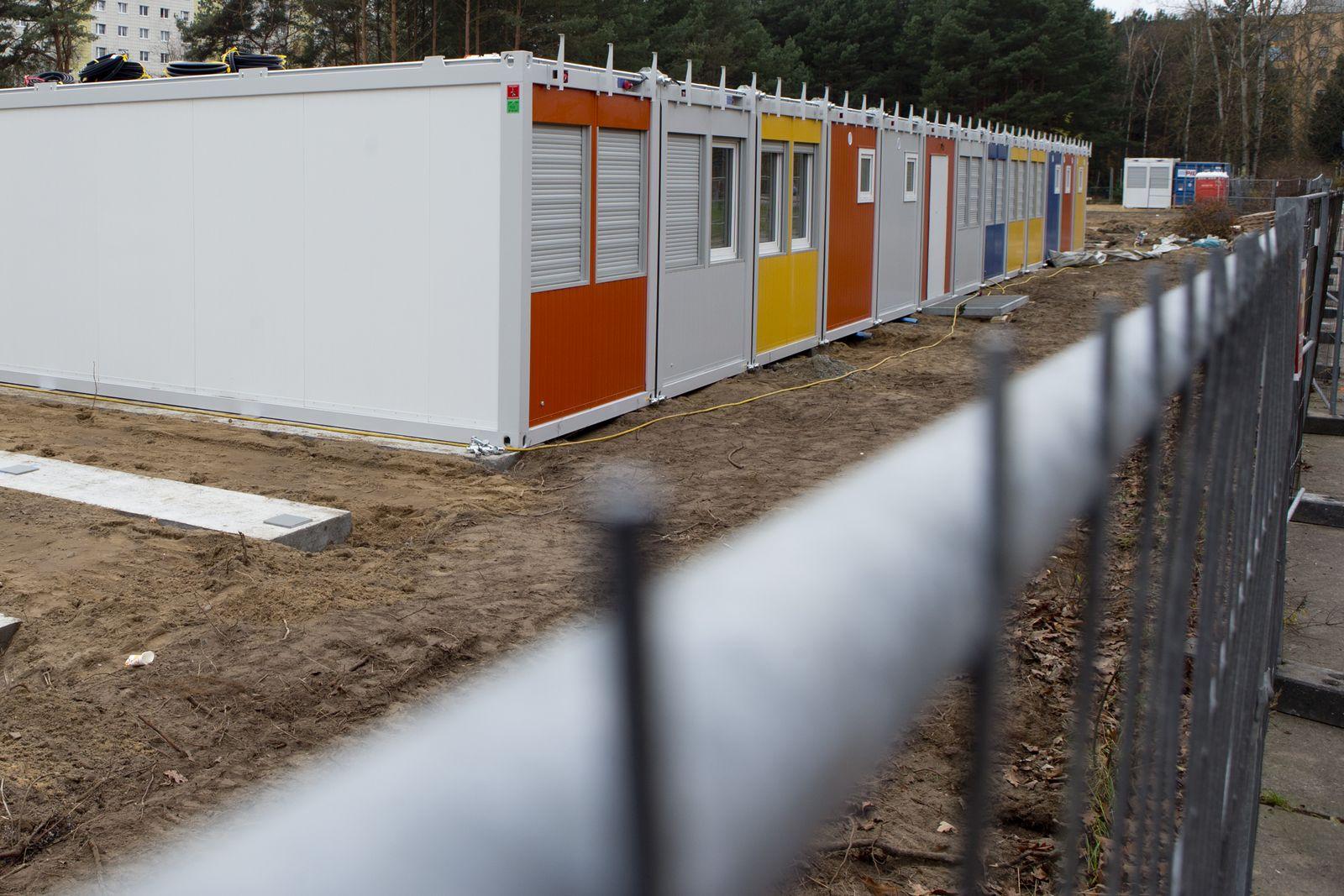 Flüchtlinge/ Unterkunft