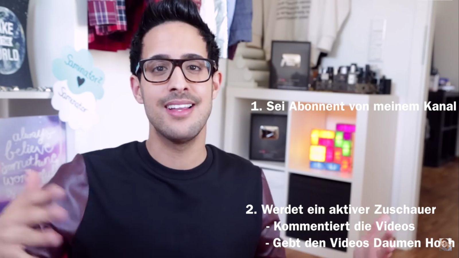 NUR ALS ZITAT Screenshot Werbe-Knigge YouTube