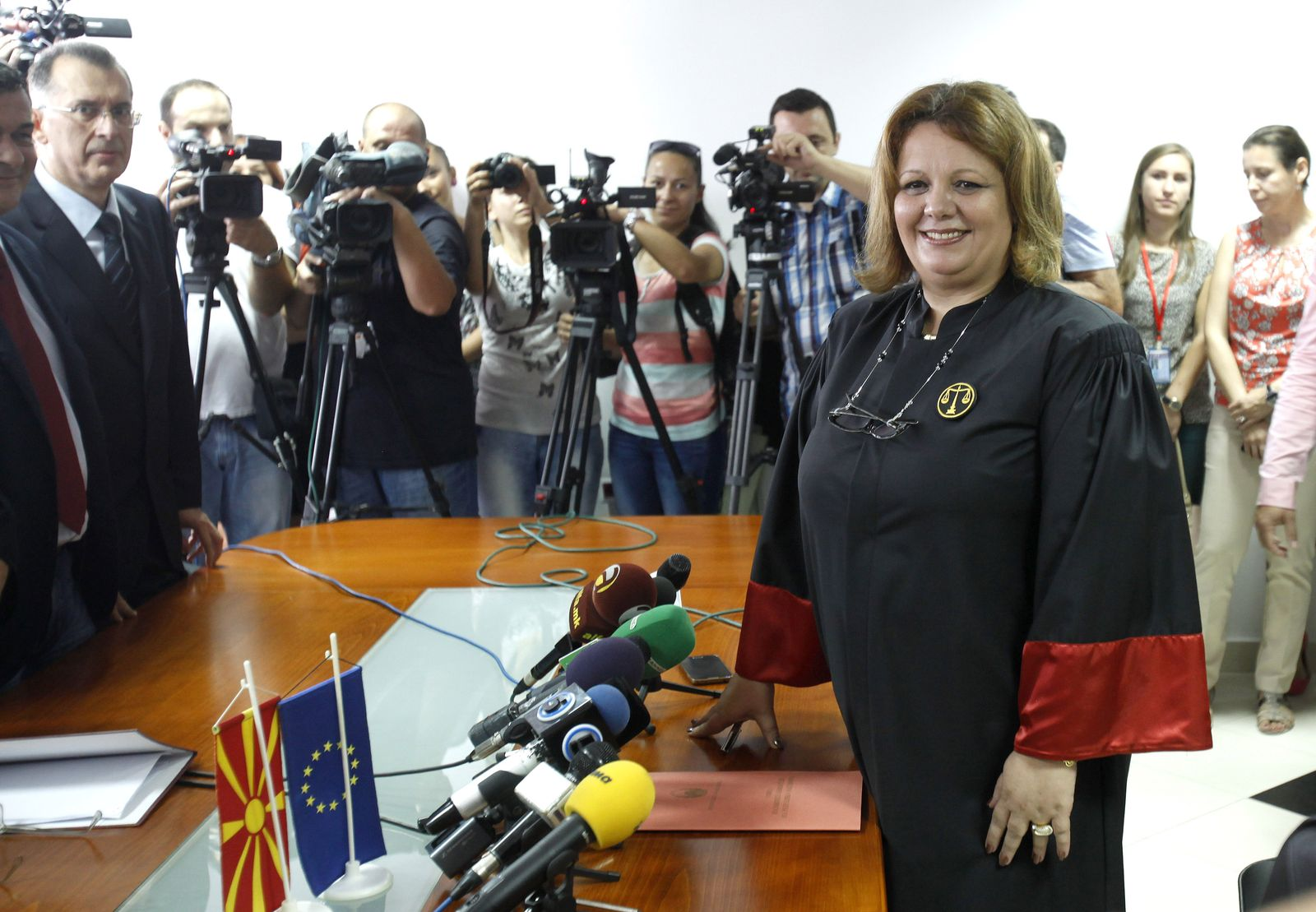 Krisenstaat/ Mazedonien/ Staatsanwältinnen/ Katica Janeva