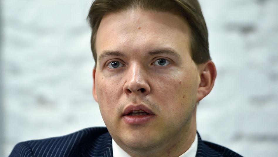 Maxim Znak, Mitglied des belarussischen Koordinierungsrates