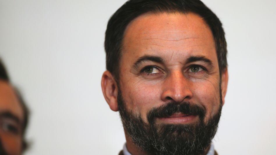 Vox-Parteichef Santiago Abascal