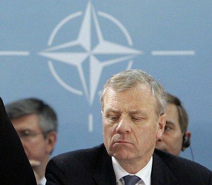 Nato-Generalsekretär Jaap de Hoop Scheffer: Massive Sicherheitsmaßnahmen