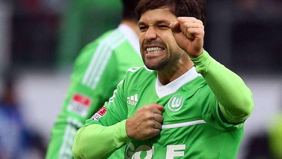 Spielmacher Diego: Für rund 15 Millionen Euro im Sommer 2011 zum VfL gekommen