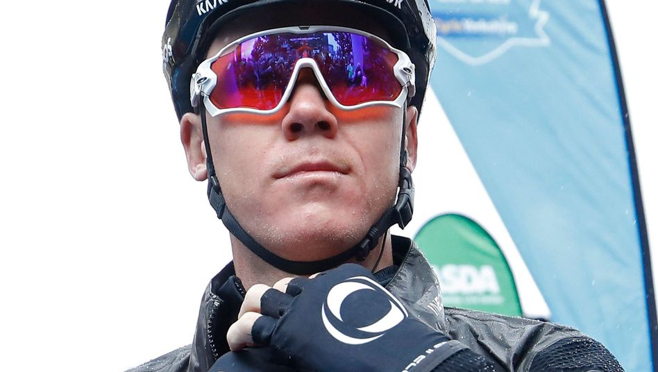 Chris Froome stürzte im Training