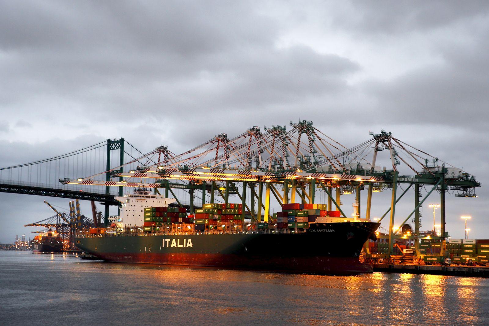 USA Konjunktur / Export / Import / Hafen / Wirtschaft